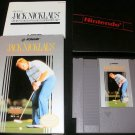 Jack Nicklaus Golf - Nintendo NES - Complete CIB