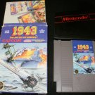 1943 - Nintendo NES - With Box & Poster - 1988 Round Seal Version