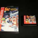 Taz in Escape From Mars - Sega Genesis - With Box