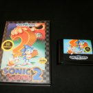 Sonic the Hedgehog 2 - Sega Genesis - With Box