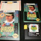 Tony La Russa Baseball - Sega Genesis - Complete CIB - With Sealed Unused Team Stat Cards