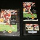 NFL Sports Talk Football 93 Starring Joe Montana - Sega Genesis - Complete CIB