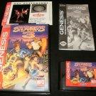 Streets of Rage 3 - Sega Genesis - Complete CIB - Rare