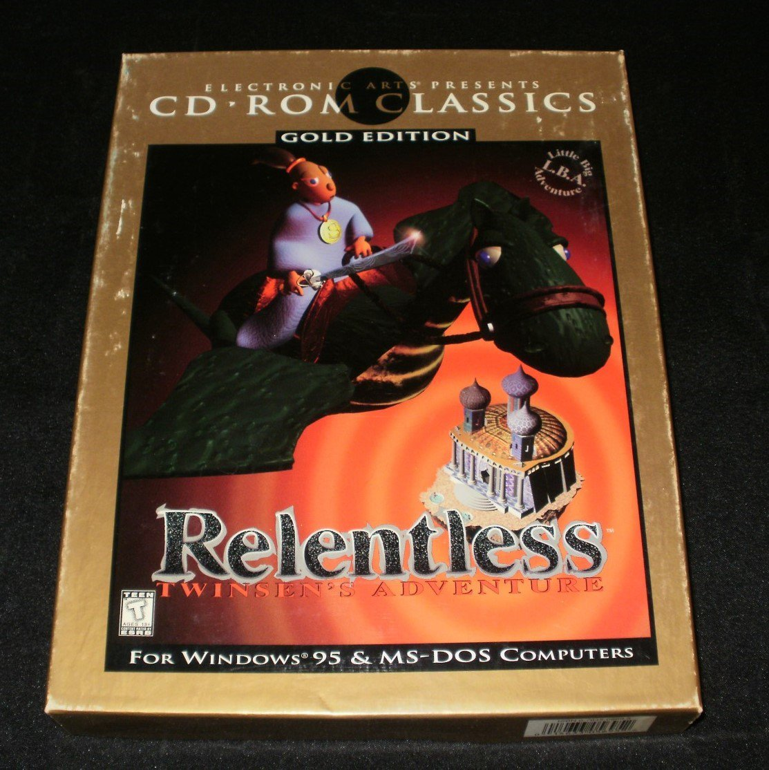 Relentless Twinsen's Adventure - 1995 Electronic Arts - IBM PC - Complete CIB