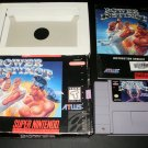 Power Instinct - SNES Super Nintendo - Complete CIB - Rare