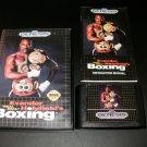 Evander Holyfield's Real Deal Boxing - Sega Genesis - Complete CIB