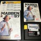 Madden NFL 97 - Sega Genesis - Complete CIB