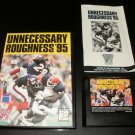 Unnecessary Roughness 95 - Sega Genesis - Complete CIB