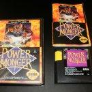 Power Monger - Sega Genesis - Complete CIB