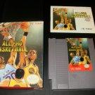 All-Pro Basketball - Nintendo NES - Complete CIB
