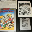 Food Fight - Atari 7800 - Complete CIB