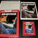Gravitar - Atari 2600 - Complete CIB
