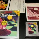 Ballblazer - Atari 7800 - Complete CIB - Red Label Version - Rare