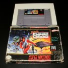 Super Star Wars The Empire Strikes Back - SNES Super Nintendo - With Box
