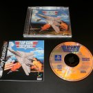 Top Gun Fire at Will - Sony PS1 - Complete CIB