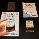 F16 Fighting Falcon - Sega Master System - Complete CIB