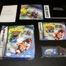Crash Bandicoot 2 NTranced - Nintendo Game Boy Advance - Complete CIB