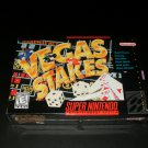 Vegas Stakes - SNES Super Nintendo - Brand New Factory Sealed