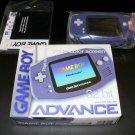 Game Boy Advance - 2001 Nintendo Handheld - Complete CIB - Indigo