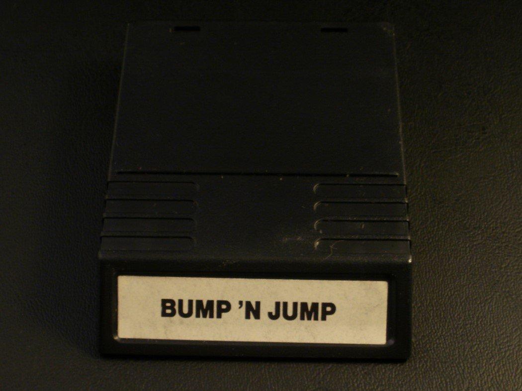 Bump 'n' Jump - Mattel Intellivision - Rare - White Label Version