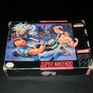 Final Fight 2 - SNES Super Nintendo - Box Only No Game - Rare