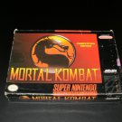Mortal Kombat - SNES Super Nintendo - Box Only No Game