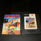 Wally Bear and the NO Gang - Nintendo NES - With Manual & Cartridge Sleeve - Rare