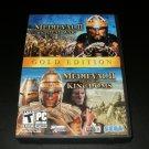 Medieval II Total War Gold Pack - 2008 Microsoft Game Studios - IBM PC - Complete