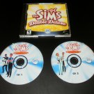 Sims Double Deluxe - 2003 EA Games - IBM PC - With Case