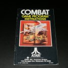 Combat - Atari 2600 - Manual Only