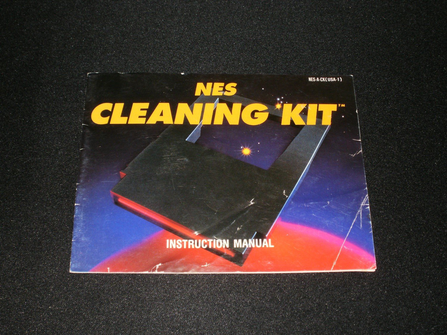 NES Cleaning Kit - Nintendo NES - Manual Only