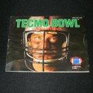 Tecmo Bowl - Nintendo NES - Manual Only