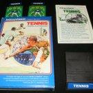 Tennis - Mattel Intellivision - Complete CIB