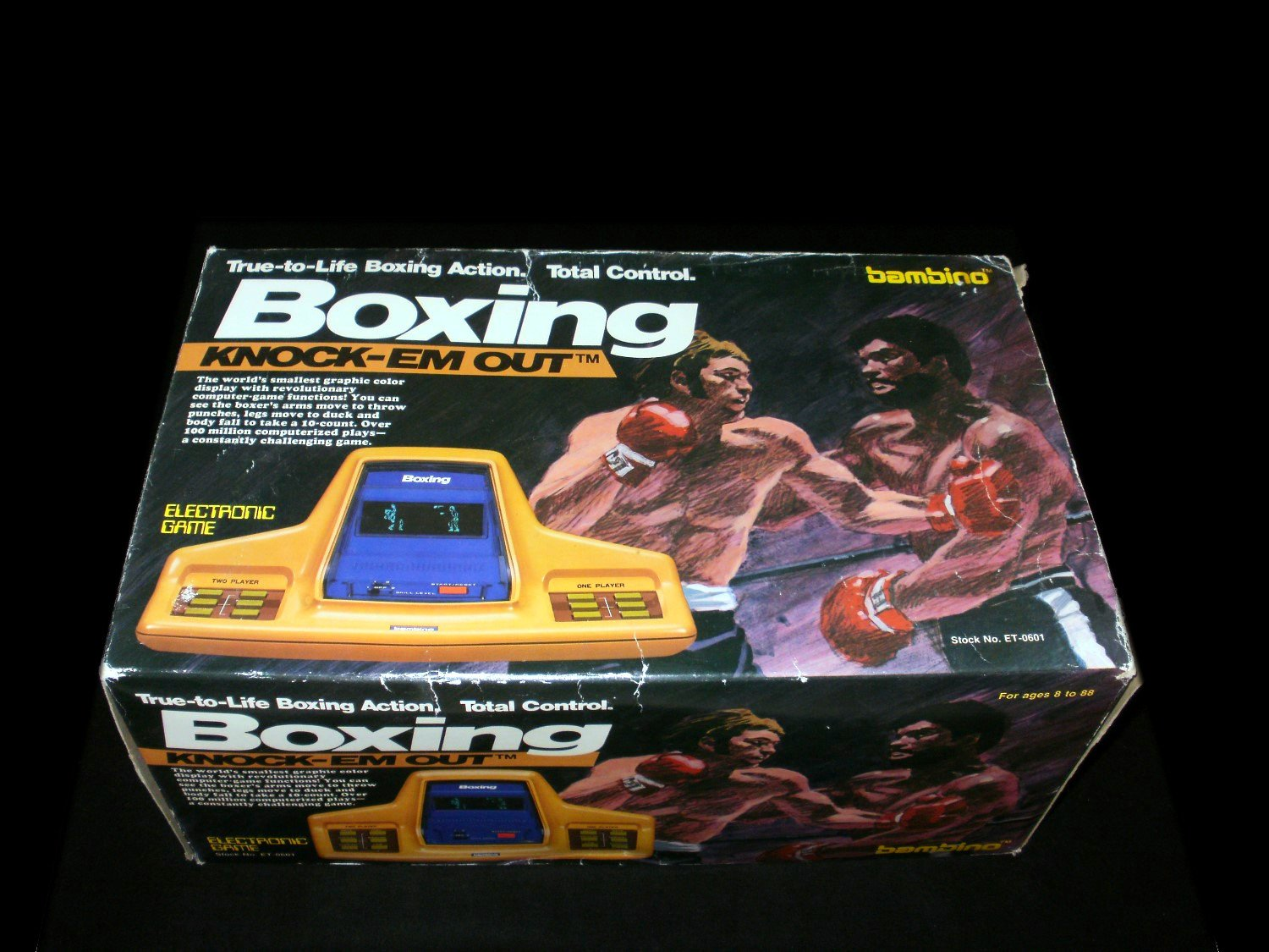 Knock 'em Out Boxing - Vintage Tabletop - Bambino 1979 - Complete CIB
