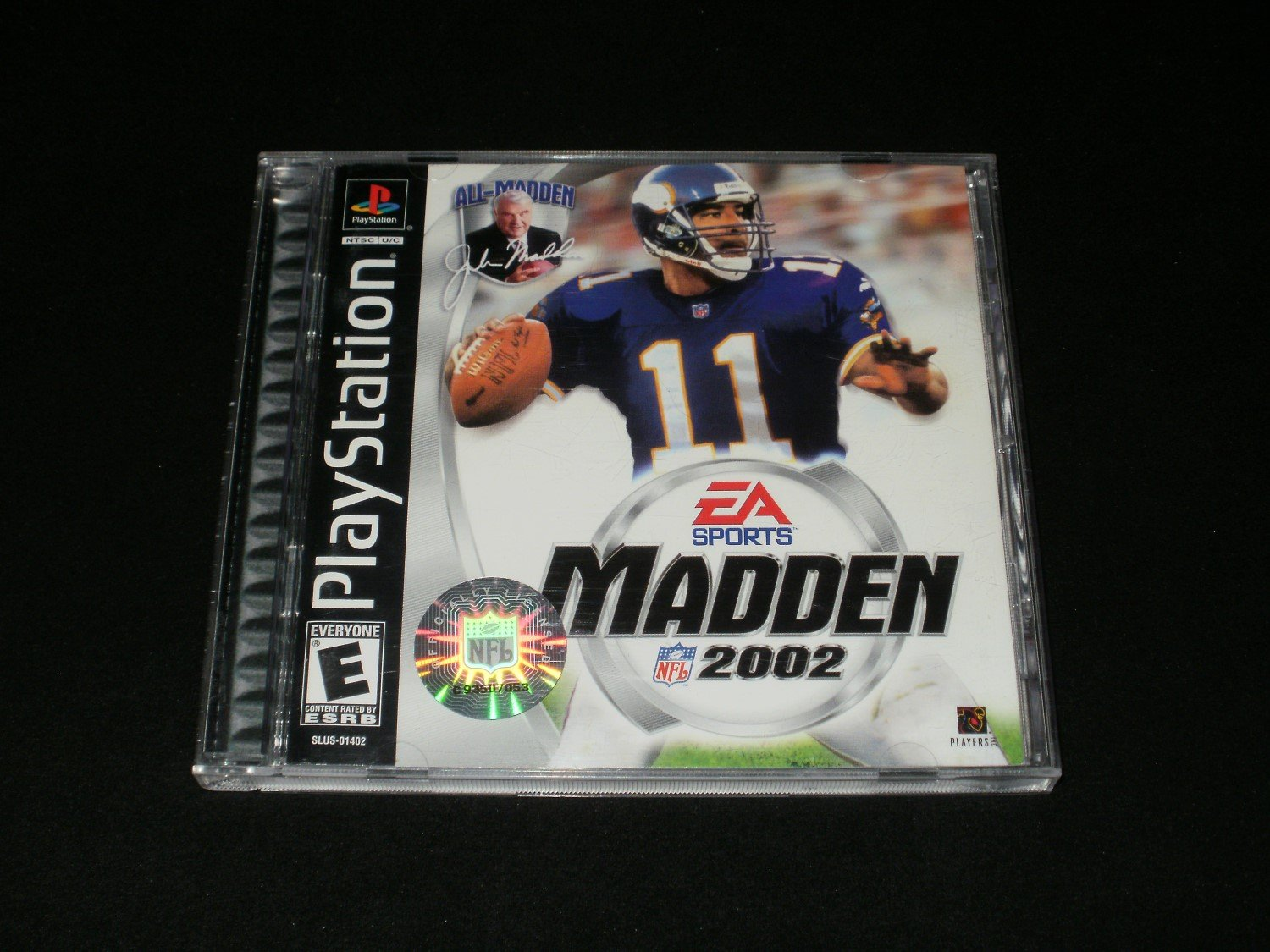 Madden NFL 2002 - Sony PS1 - Complete CIB