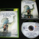 Lemony Snicket's A Series of Unfortunate Events - Xbox - Complete CIB