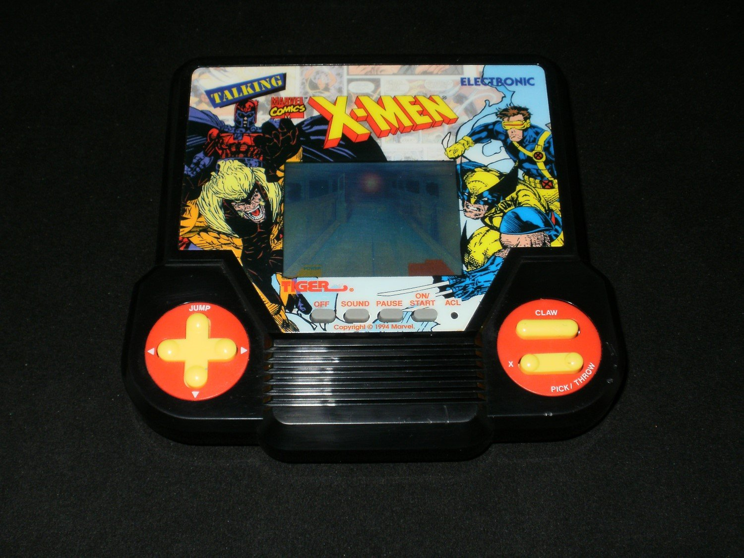 Talking X-Men - Vintage Handheld - Tiger Electronics 1993