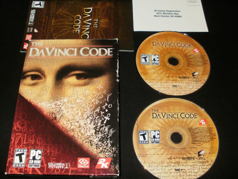 The Da Vinci Code - 2006 2K Games - Windows PC - Complete CIB