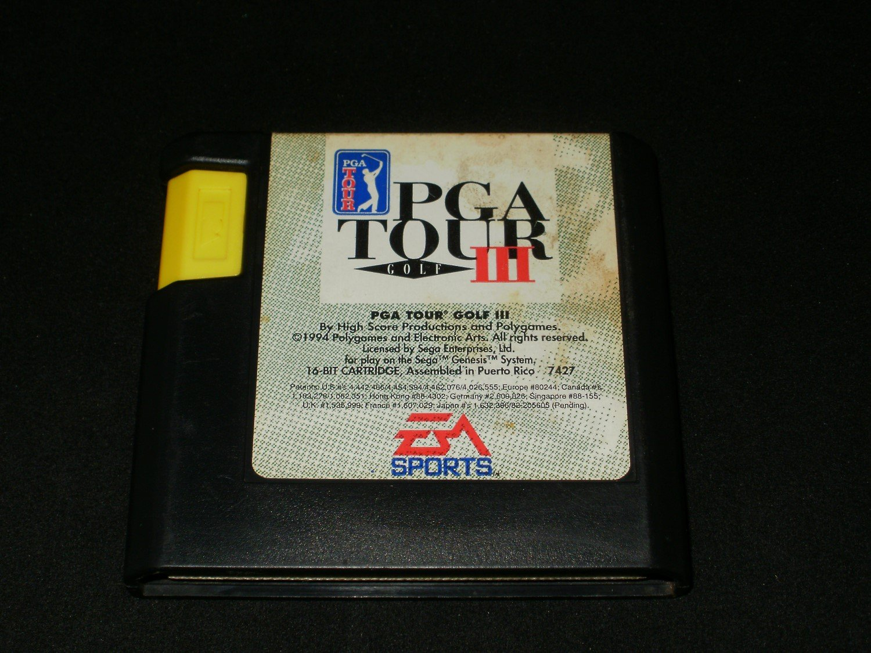 PGA Tour Golf III - Sega Genesis