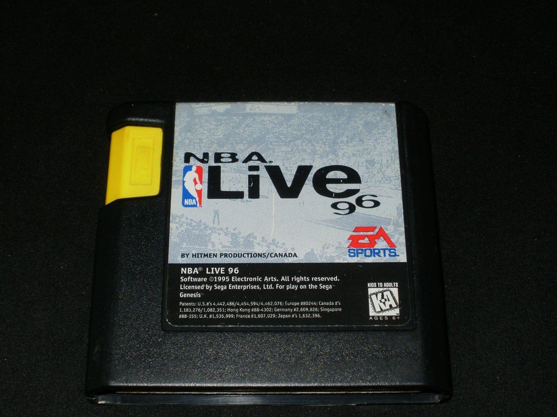 NBA Live 96 - Sega Genesis