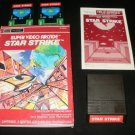 Star Strike - Mattel Intellivision - Complete - Sears Tele-Games Version
