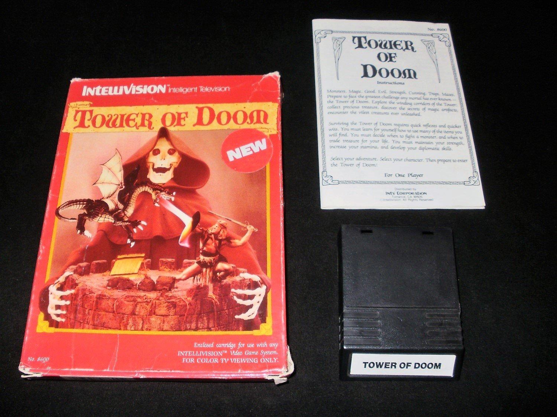 Tower of Doom - Mattel Intellivision - Complete CIB - Rare