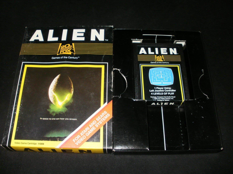 Alien - Atari 2600 - With Box