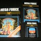 Mega Force - Atari 2600 - Complete CIB - Rare