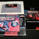 Michael Andretti's Indy Car Challenge - SNES Super Nintendo - Complete CIB