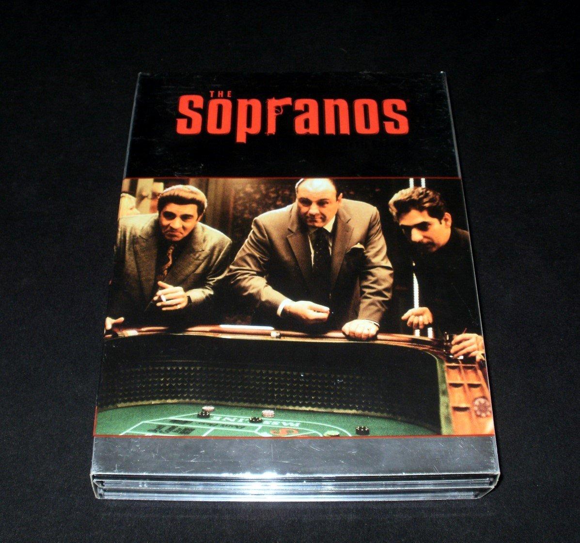 Sopranos Complete Fourth Season - 4 DVD Box Set - Complete