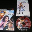 Final Fantasy X-2 - Sony PS2 - Complete CIB - Black Label Release
