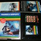 Swords and Serpents - Mattel Intellivision - Complete CIB - Rare