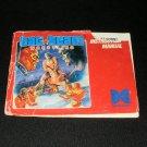 Tag Team Wrestling - Nintendo NES - Manual Only