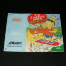 Simpsons Bart vs. the Space Mutants - Nintendo NES - Manual Only
